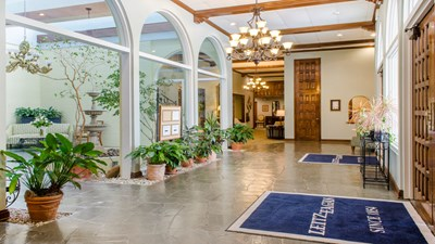 Lobby at Leitz-Eagan Funeral Home