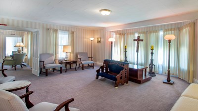 Chapel at Nickerson Funeral Home