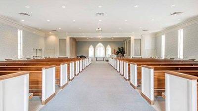 Chapel at Mackey Funerals and Cremations at Century Drive