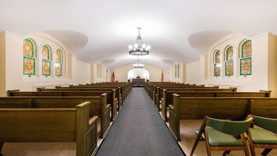 Chapel at John M. Taylor Funeral Home