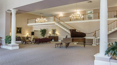 Lobby at Whitley Garner At Rosehaven Funeral Home