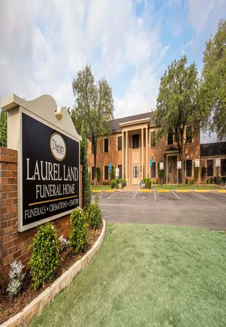 Front of Laurel Land Funeral Home - Fort Worth