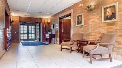 Lobby at McEvoy-Shields Funeral Home and Chapel