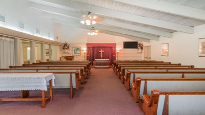 Chapel at Stratford Evans Merced Funeral Home