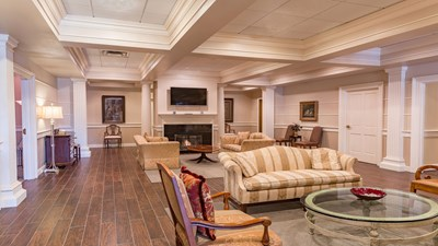 Lobby at Sparkman Funeral Home & Cremation Services