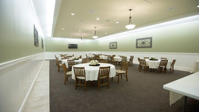 Reception room at Connally-Compton Funeral Directors