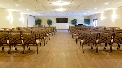 Chapel at Culley's MeadowWood Funeral Home