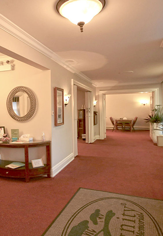 Lobby at Barthel Funeral Home