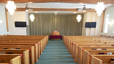 Chapel at First Memorial Funeral Services - Harmony Chapel
