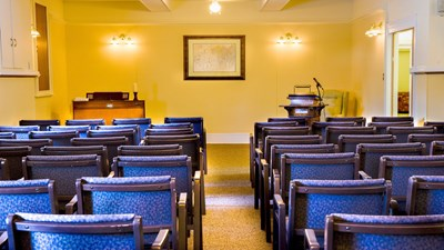 Chapel at Patten Funeral Home