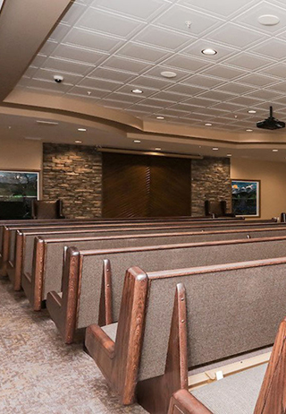 Chapel at Hainstock's Funeral Home & Crematorium