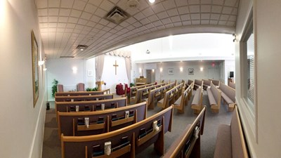 Chapel at Victoria Avenue Funeral Home and Cremation Centre
