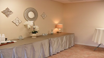 Reception room at Groover Funeral Home