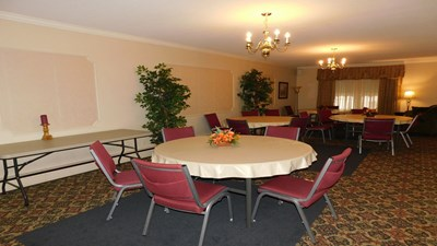 Reception room at C.M. Sloan & Sons Funeral Home