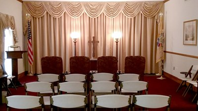 Chapel at Anderson & Campbell Funeral Home