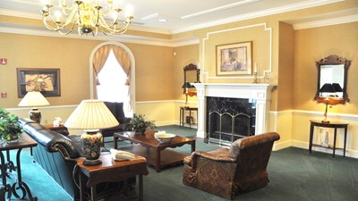 Sitting area at George A. Smith & Sons Funeral Home