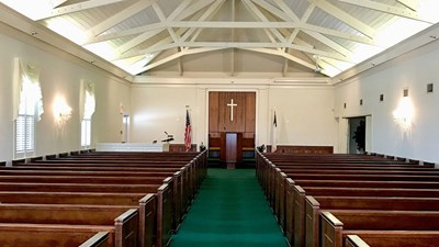 Chapel at Radney Funeral Home