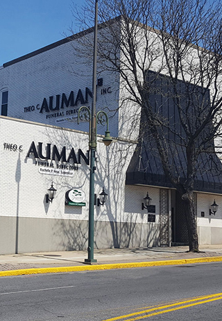 Front exterior building at Theo C. Auman Inc.
