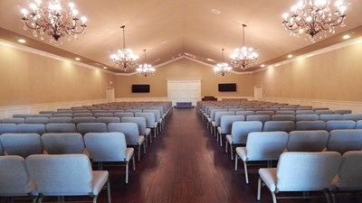 Chapel at Heritage Chapel Funeral Home