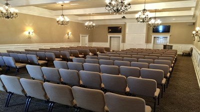 Chapel at Memory Chapel Funeral Home