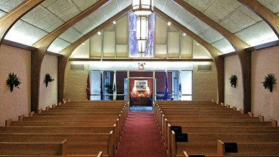 Chapel at Sechrest Funeral Service
