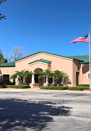 Front exterior at Volusia Memorial Funeral Home