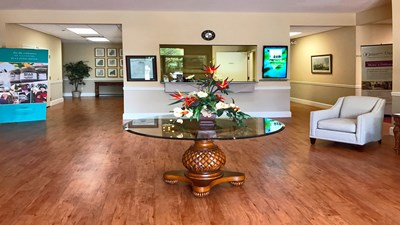 Lobby at Volusia Memorial Funeral Home