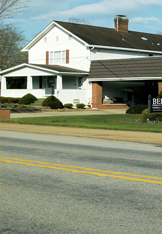 Front exterior building at Behm Funeral Homes, Inc.