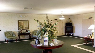 Lobby at Myers Funeral Home