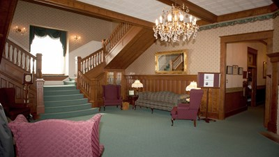Lobby at Young's Funeral Directors
