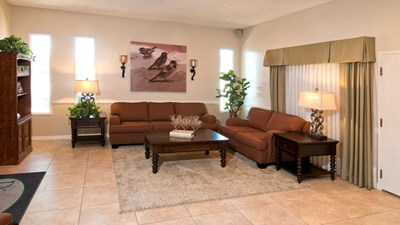 Sitting area at Dimond & Shannon Mortuary