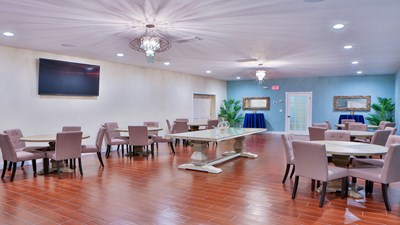 Reception room at Kraeer-Fairchild Funeral Home and Cremation Center