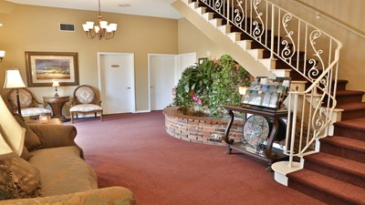 Lobby at Kraeer Funeral Home and Cremation Center