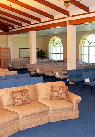 Chapel at Hargrave Funeral Home