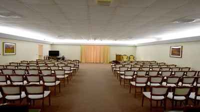 Chapel at Dodd Payne Hess Funeral Home