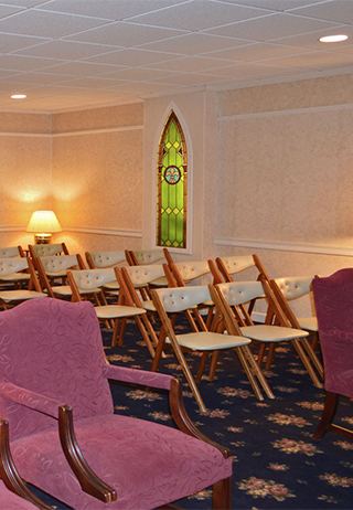 Chapel at Zis-Sweeney and St. Laurent Funeral Home