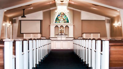 Chapel at Bunch-Johnson Funeral Home