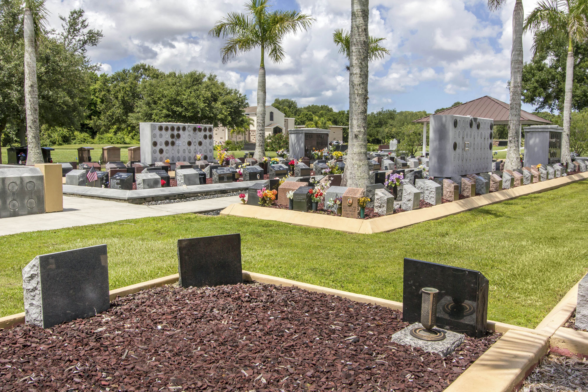Cremation garden at Palms Memorial Park