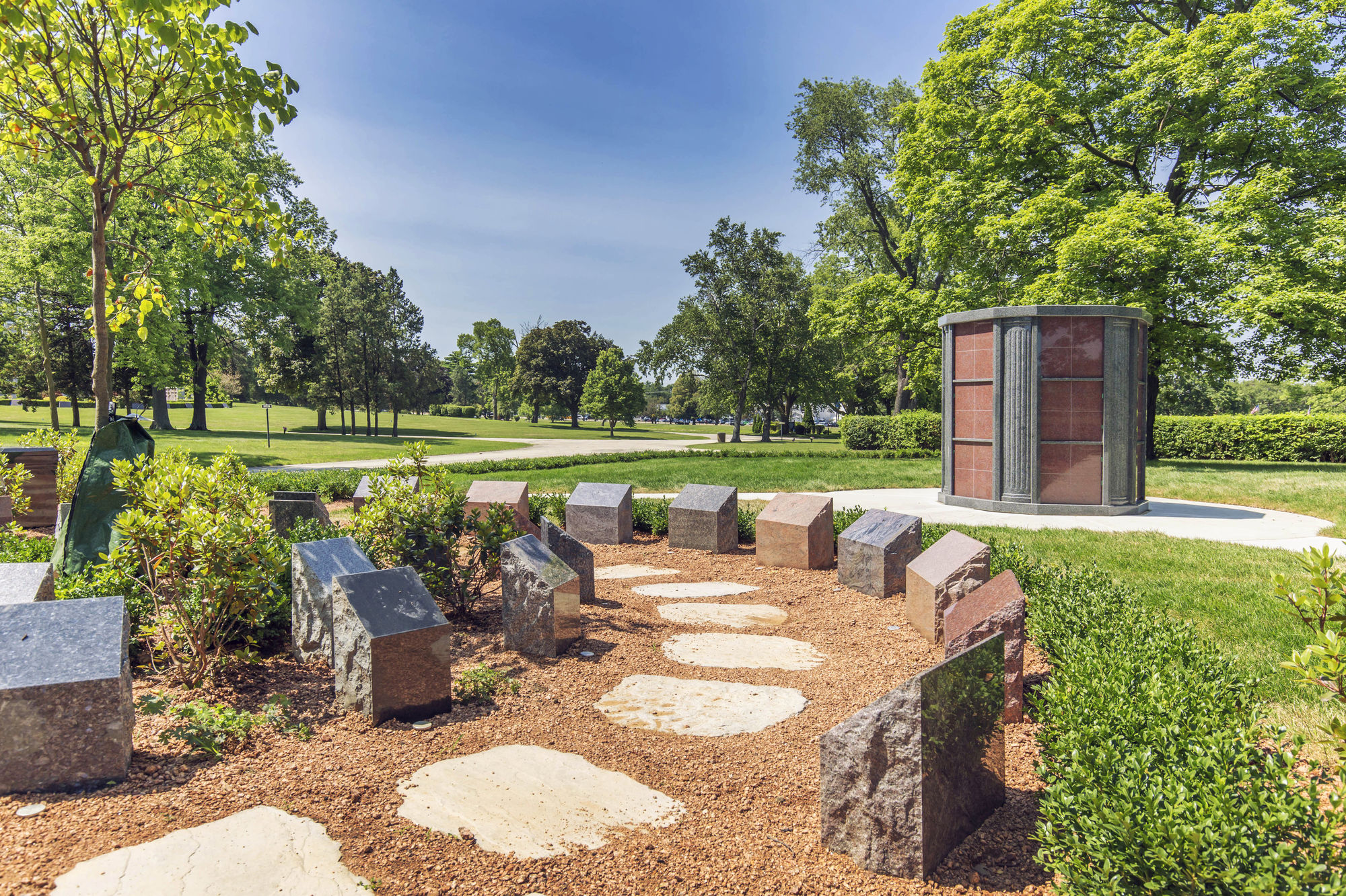 Cremation Garden with Columbarium at Chapel Hill Gardens West Cemetery