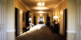 Lobby at Feeney-Hornak Shadeland Mortuary