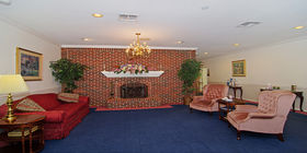 Sitting area at Baldwin Fairchild Funeral Home