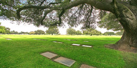Cemetery grounds at Oakdale Memorial Park