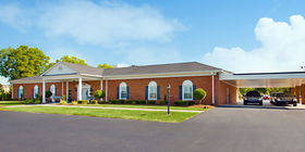 Front exterior at McLaurin Funeral Home