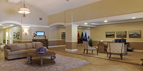 Lobby at Hardage-Giddens Funeral Home