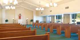 Chapel at Lima Family Milpitas-Fremont Mortuary