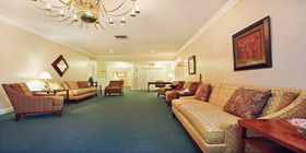 Lobby at Oak Lawn Funeral Home