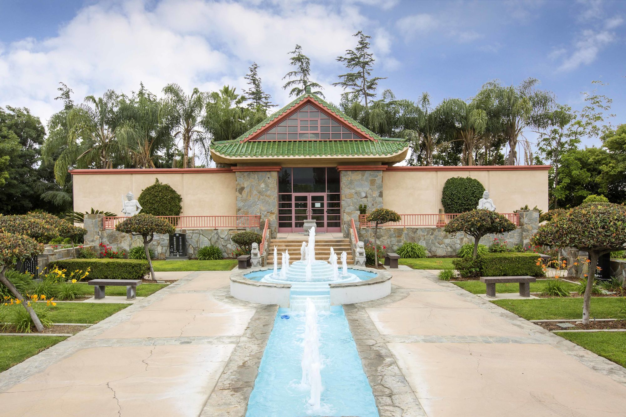 Columbarium of Eternity front entrance at Live Oak Memorial Park