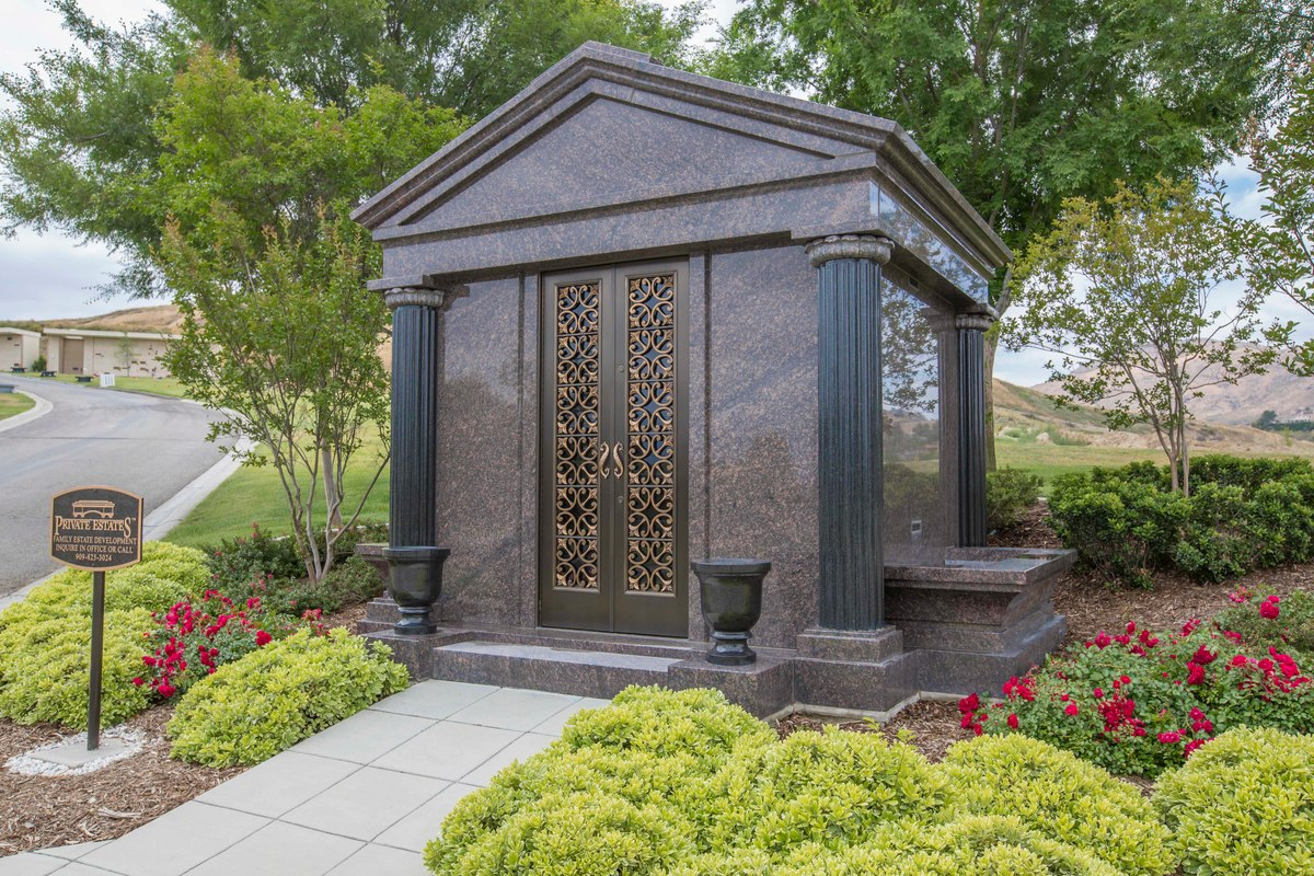 Mausoleum at Montecito Memorial Park