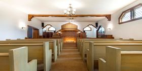 Chapel at Coutts Funeral Home & Cremation Centre