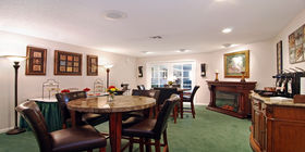 Reception room at Aycock Funeral Home
